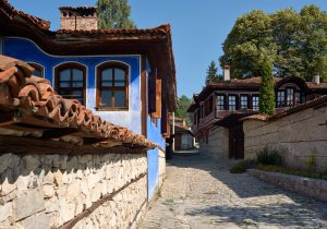 Old houses in Koprivshtitsa, Bulgaria
